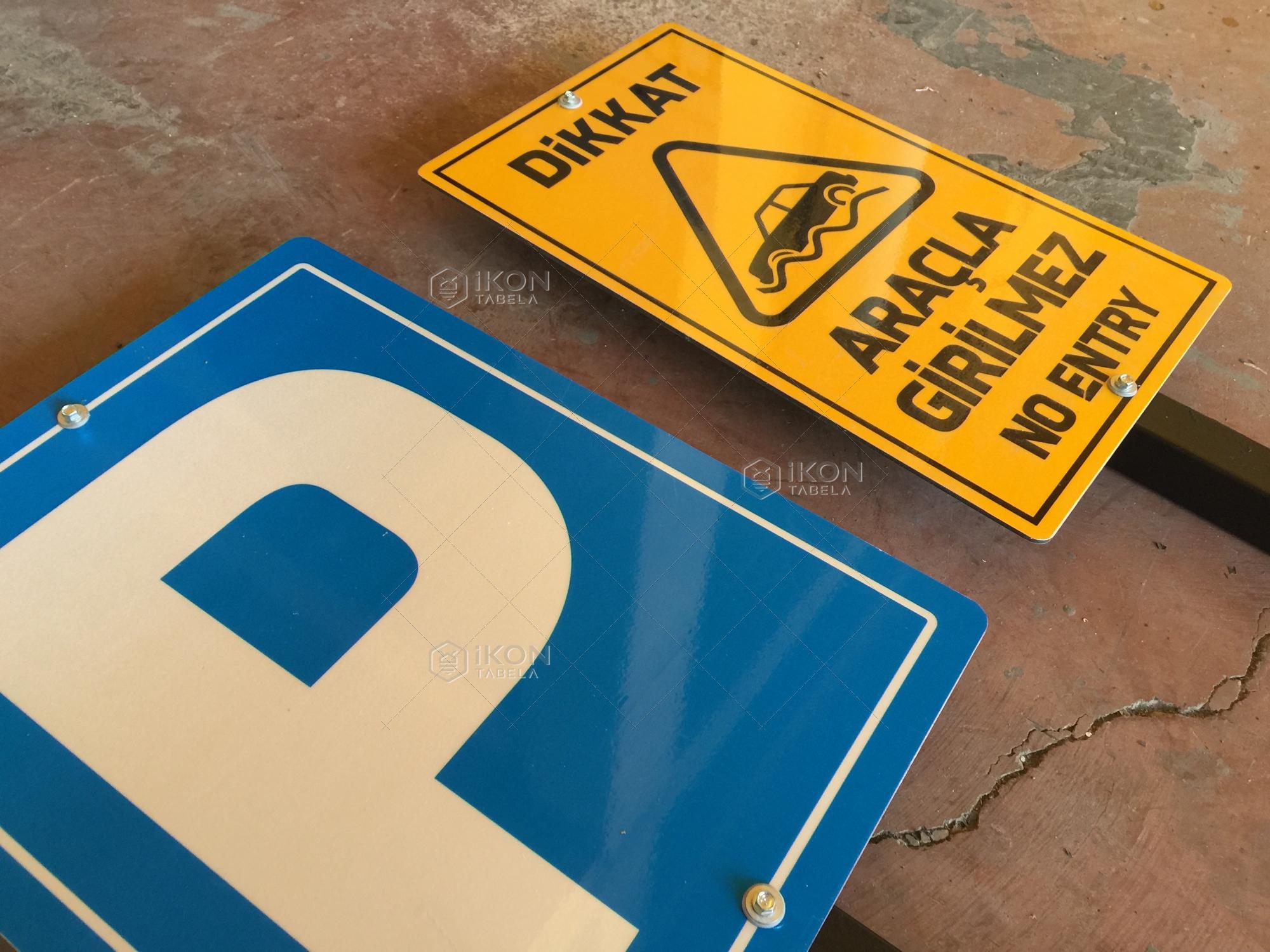 İş Güvenliği Levhaları